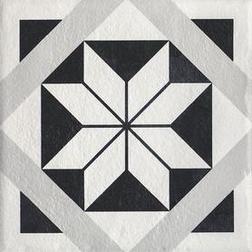 MODERN GRES SZKL. STRUKTURA MOTYW F 19,8X19,8 G1 (1,10)