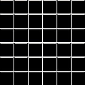 MOZAIKA PRASOWANA ALTEA NERO K.4,8X4,8 29,8X29,8