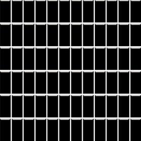 MOZAIKA PRASOWANA ALTEA NERO K.2,3X4,8 29,8X29,8