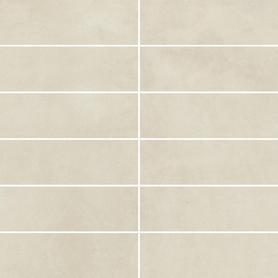MOZAIKA CIĘTA TECNIQ BIANCO K.4,8X14,8 MAT. 29,8X29,8