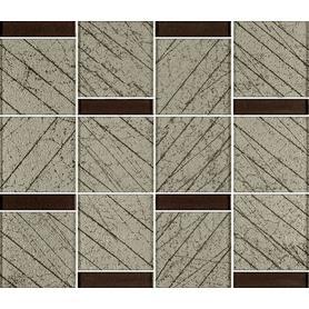 UNIWERSALNA MOZAIKA SZKLANA BROWN PARADYZ RAMONES 29,8X25,7 G1 (8.000)