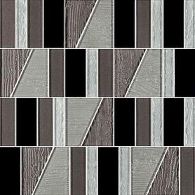 UNIWERSALNA MOZAIKA SZKLANA NERO PARADYZ TIFFANY MIX 29,8X29,8 G1 (9.000)