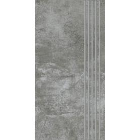 SCRATCH NERO STOPNICA PROSTA NACINANA MAT. 29,8X59,8 G1