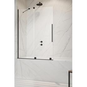 Furo Black PND II Drzwi 888 Lewe Czarny/Przejrzyste 10109888-54-01L
