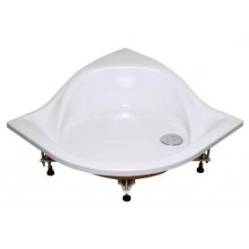 Brodzik ELIPSO-100 PAN biały  A22AA01410