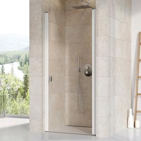 Drzwi prysznicowe CSD1-80 białe Transparent  0QV40100Z1