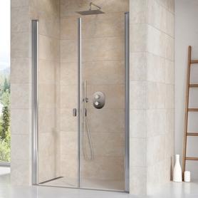 Drzwi prysznicowe CSDL2-120 satyna Transparent  0QVGCU0LZ1
