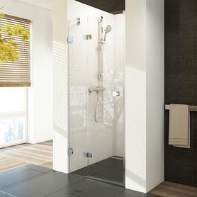 Drzwi prysznicowe BSD2-80 A-L chrom+Transparent (790-805)  0UL4AA00Z1