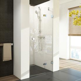Drzwi prysznicowe BSD2-80 A-R chrom+Transparent (790-805)  0UP4AA00Z1