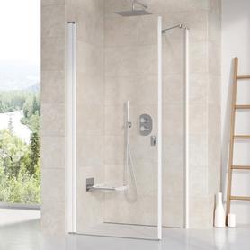 Ścianka prysznicowa CPS-100 biała Transparent  9QVA0100Z1