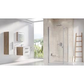 Ścianka prysznicowa CPS-100 satyna Transparent  9QVA0U00Z1