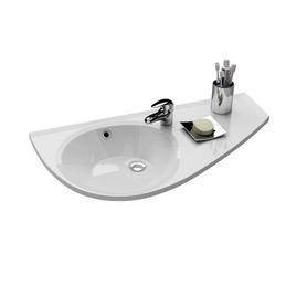 Umywalka Avocado R biała z otworami   XJ1P1100000