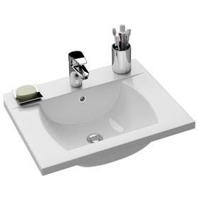 Umywalka Classic 600 biała z otworami   XJD01160000
