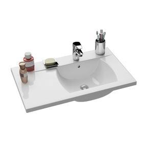 Umywalka Classic 800 R biała z otworami   XJDP1180000