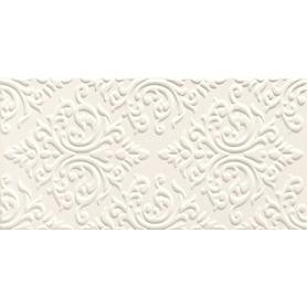 Dekor ścienny Delice white STR 22,3x44,8 Gat.1