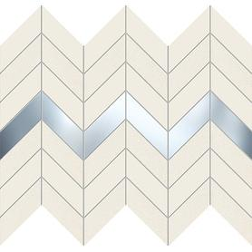 Mozaika ścienna Biel 29,8x24,6 Gat.1