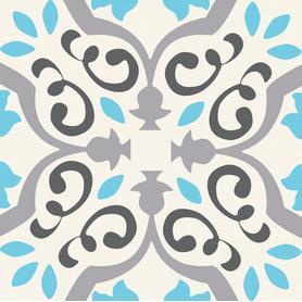 Dekor ścienny Patch White 22,3x22,3 Gat.1