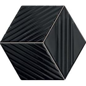 Mozaika ścienna Colour black 19,8x22,6 Gat.1