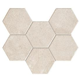 Mozaika ścienna Sfumato hex 28,9x22,1 Gat.1