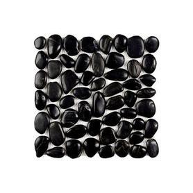 Moz kam 30x30 kamień rzeczny Black /9