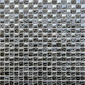 Moz szkl 30x30 Deep opalizujący grafit /12