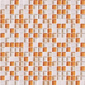 Moz szkl kam 30,5x30,5 Orange Mix /12