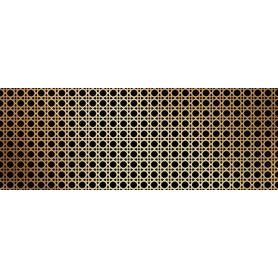 Dekor ścienny Gleam gold 32,8x89,8 Gat.1