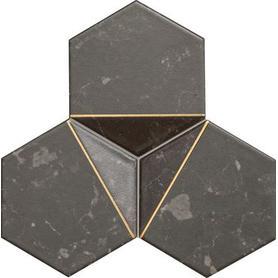 Mozaika ścienna Scoria black 1 19,2x16,5 Gat.1