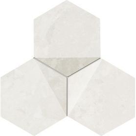 Mozaika ścienna Scoria white 19,2x16,5 Gat.1