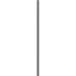 LISTWA SZKLANA UNIWESALNA GRAFIT 2,3X75