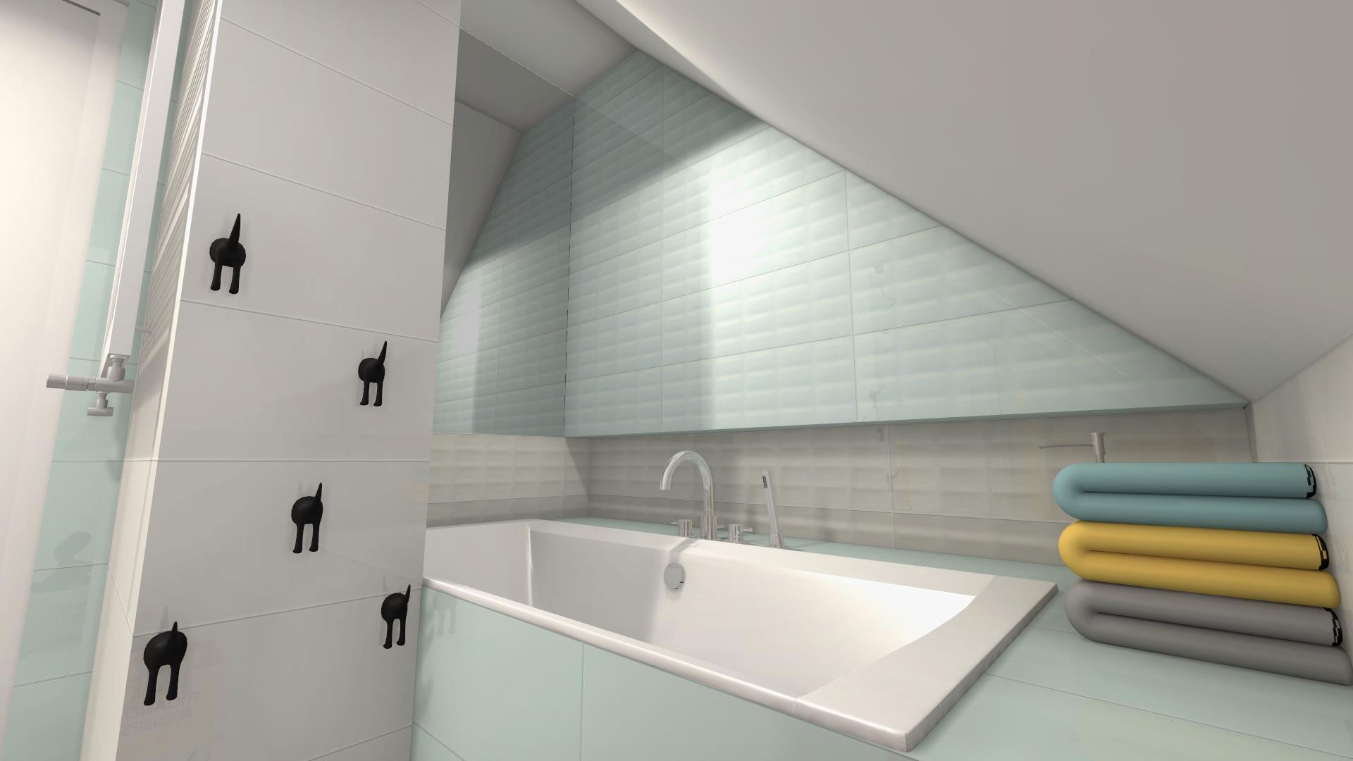łazienka Dla Dzieci Pomysł Z Kolekcją Opoczno Parisen