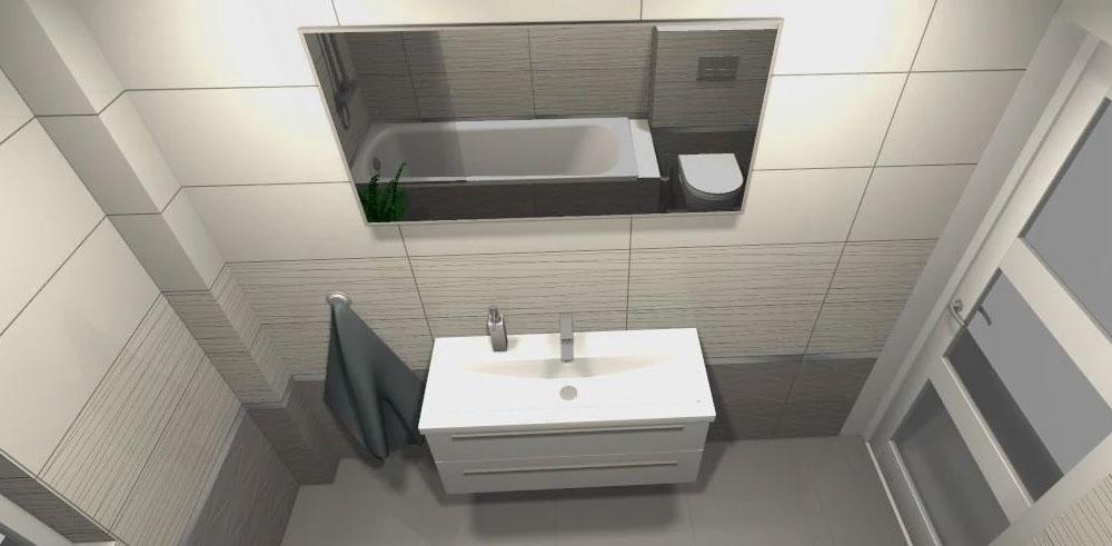 łazienka dla singla