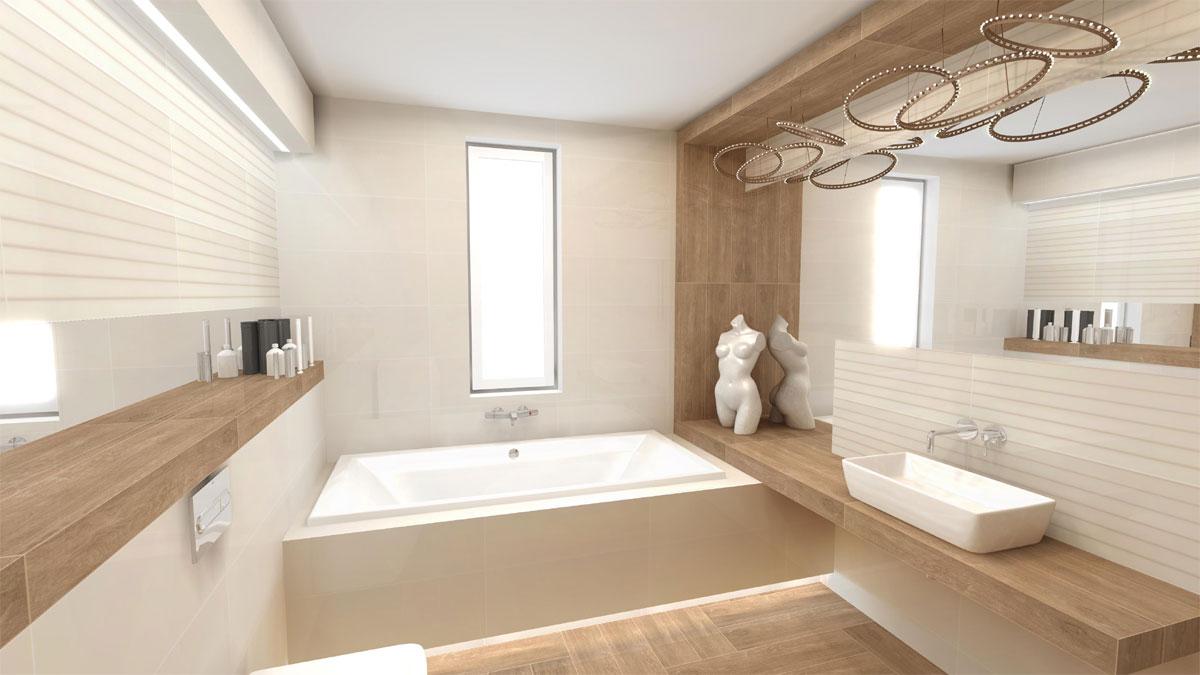 łazienka Z Fantazją Ale Minimalistyczna Pomysł Jeta