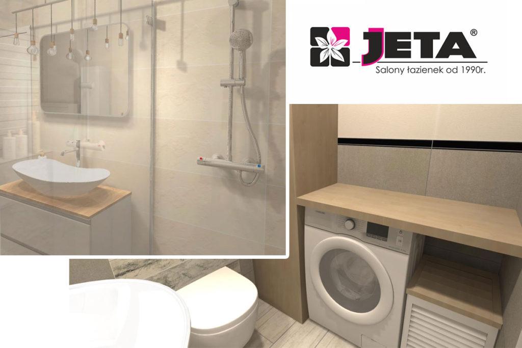 projekt rodzinnej łazienki