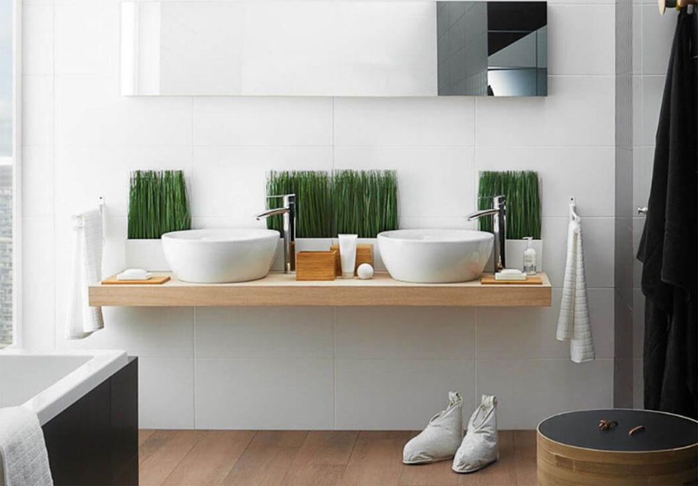 łazienka biofiliczna