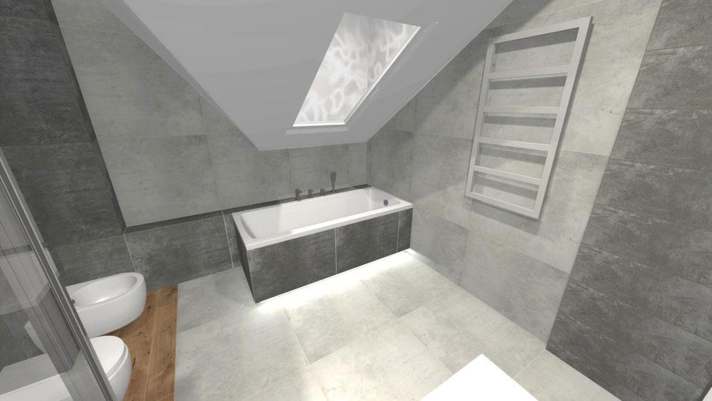 łazienka Dla Dwojga Na Poddaszu By Jeta
