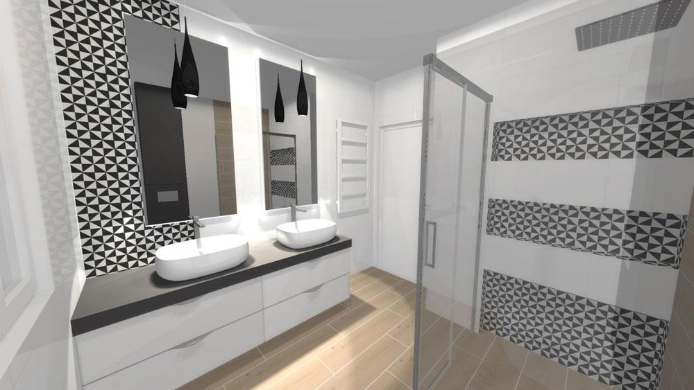 łazienka Dla Dwojga Czyli Połączenie 2 Gustów W 1