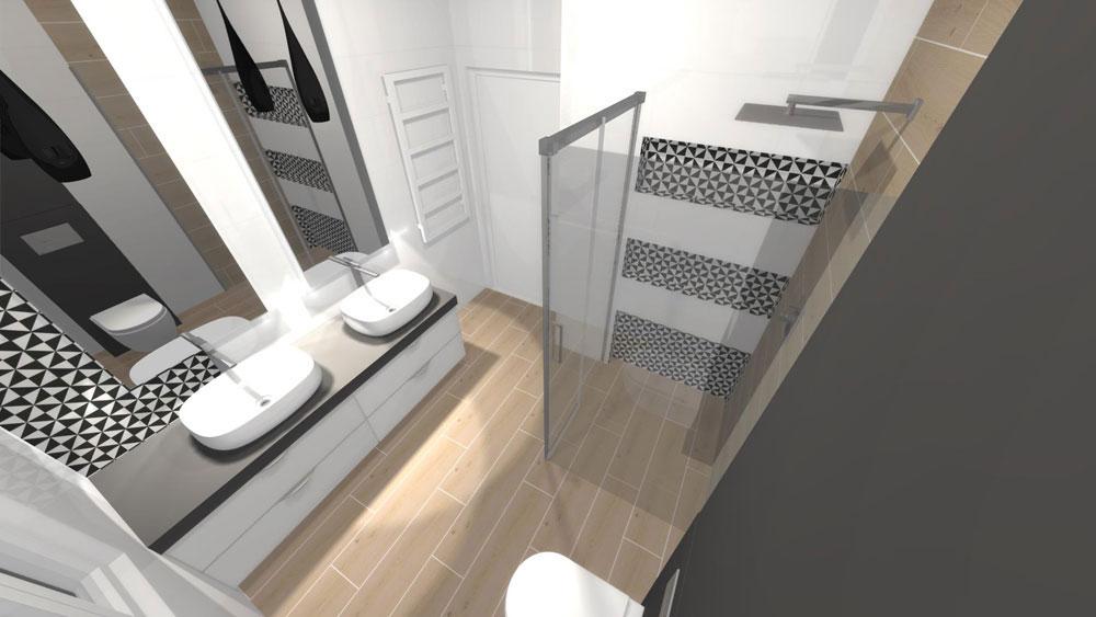 łazienka dla dwojga
