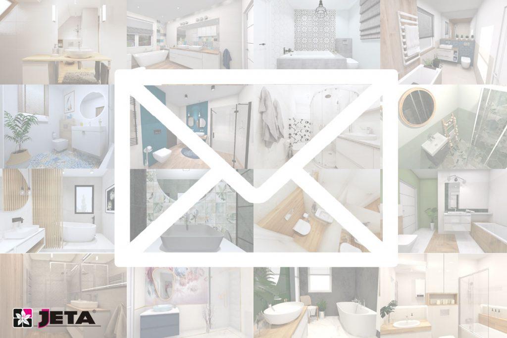 inspirujący newsletter łazienkowy