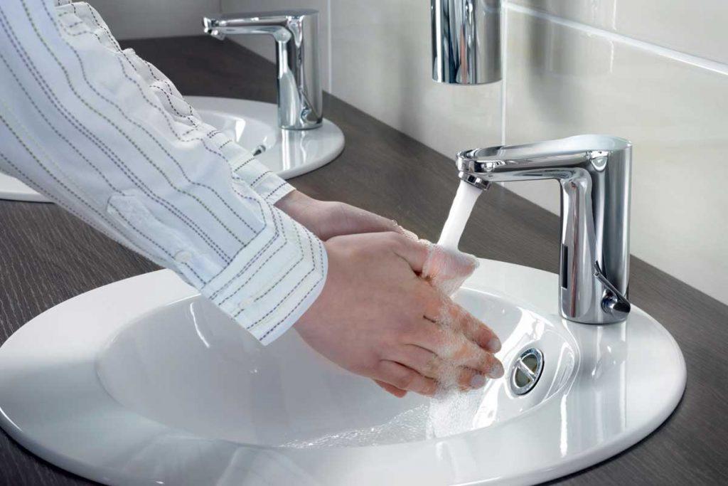 łazienka w pandemii